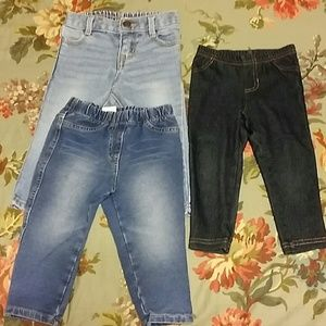 Next UK baby girl bundle of 3 jegging